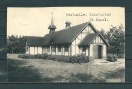 WESTMALLE: Sanatorium De Kapel, Gelopen Postkaart 1957 (Uitg Thill) (GA20174) - Malle