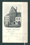MALINES: Maison Gothique, Gelopen Postkaart (GA20326) - Mechelen