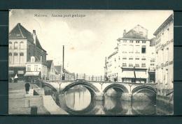 MALINES: Ancien Pont Gothique, Gelopen Postkaart 1904 (GA20336) - Mechelen
