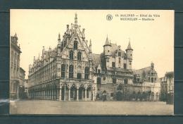 MALINES: Hotel De VIlle, Niet Gelopen Postkaart (Uitg Walschaerts) (GA20379) - Mechelen