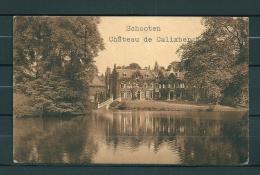 SCHOOTEN: Chateau De Calixberghe, Gelopen Postkaart 1926 (Uitg Thill) (GA20450) - Schoten
