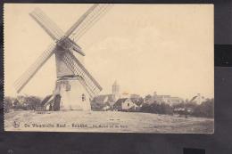Knokke De Molen En De Kerk  Feldpost 1917 - Knokke