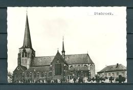 STABROEK: St Catharine Kerk, Niet Gelopen Postkaart (UItg Bril) (GA20577) - Stabroek
