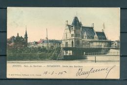 BERCHEM: Statie Van Berchem, Gelopen Postkaart (Uitg Hoffman) (GA20718) - Antwerpen