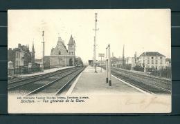 BERCHEM: Vue Générale De La Gare, Gelopen Postkaart 1905 (Uitg Vander Heyden) (GA20719) - Antwerpen