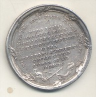 POLAND POLOGNE POLSKA STANISLAS II AUGUST PONIATOWSKI DEATH OF MARIA AMELIA MNISZECH 1772 SILVER MEDAL UNSIGNED