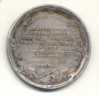 POLAND POLOGNE POLSKA STANISLAS II AUGUST PONIATOWSKI DEATH OF MARIA AMELIA MNISZECH 1772 SILVER MEDAL UNSIGNED - Monarchia / Nobiltà