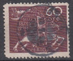 Sweden 1924, Facit No: 221. See Scan! Free Shipping On All Orders Over 10 Euro. Welcome To My Store! - Oblitérés