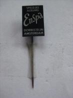 Pin Speldjes Albums Enspa Dorresteijn Amsterdam (GA01141) - Verenigingen
