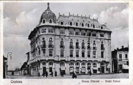 CRALOVA - Banca Olteniei, Hotel Palace, Karte Gel.1927, 6 Lei Marke - Rumänien