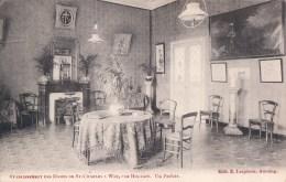 Etablissement Des Dames De St-Charles à Wez Par Hollain Un Parloir - Brunehaut