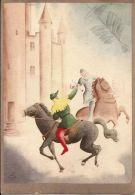 AVIAZIONE COMPAGNIA AEREA ALA LITTORIA 1937 PROGRESSO ANNO 1506 ILL TOMMASINI - Pubblicitari