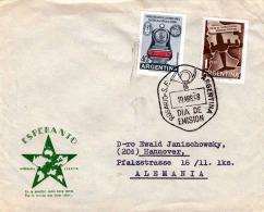 Brief ARGENTINIEN 1958 - 2 Fach Frankiert, Esperanto - Argentinien