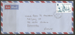 St. Helena 1987 Nice Letter Sendt To Demnark   (hel01) - Sainte-Hélène