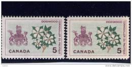 CANADA. 1964-66, # 423-423i,  Provincial Flowers & Coats Of Arms Mnh - 1952-.... Règne D'Elizabeth II