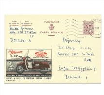 Publibel Obl. N° 1813 ( Motos JAWA, Cygne; Agent: M. Ruys  - Merksem) Obl: Deurne 1961 - Publibels