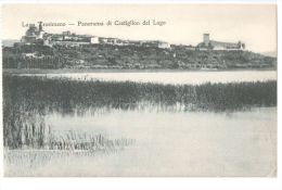 CASTIGLION DEL LAGO  ( PERUGIA ) PANORAMA - 1920s - Perugia