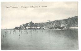 PASSIGNANO SUL TRASIMENO ( PERUGIA ) - PANORAMA DALLA PARTE DI LEVANTE - 1920s - Perugia