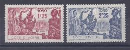 Côte D´Ivoire - 144 Et 145 Neufs * - Elfenbeinküste (1892-1944)