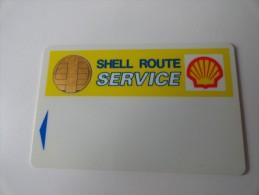 RARE :  SHELL ROUTE SERVICE - Oil