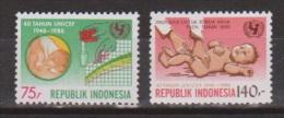 Indonesie Indonesia Nr.1254-1255 MNH ; UNICEF 1986 - UNICEF