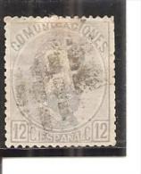 España/Spain-(usado) - Edifil  122 - Yvert  121 (o) - 1872-73 Reino: Amadeo I