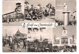 Germany - München - Oktoberfest - 1954 - Muenchen
