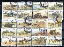 BOTSWANA /Oblitérés/Used/1987 - Animaux Du Botswana (Série Complète) - Botswana (1966-...)