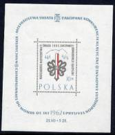 POLAND 1962 Skiing Championship Block MNH / **  Michel Block 26 - 1944-.... Republic
