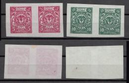 Kolumbien Colombia 1895 BORGES Provincia De CAUCA Pair 5c + 10c Mint (*)  Rare - Colombia