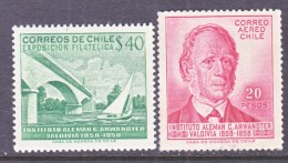 CHILE   319,  C 213    *   BRIDGE  STAMP EXPO. - Chile