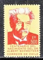 CHILE   458   *   MEDICINE  DR.  SCHWEITZER - Chile