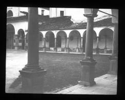 V1598 - ITALIE - FLORENCE - Bibliothéque Laurencienne - Plaque Photo Originale à Ne Pas Manquer - Plaques De Verre