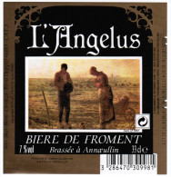 ETIQUETTE L´ANGELUS BIERE DE FROMENT 33 CL BRASSEE A ANNOEULLIN - Beer