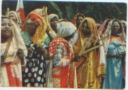 """Iles Comores, Un """"tonus"""" Indigène, Ed. Laboratoires La Biomarine, A Circulé En 1957, Dos Avec Publicité Pour IONYL - Comores"""