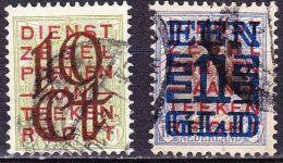1923 Opruimingsuitgifte Gestempelde Serie NVPH 132 / 133 - 1891-1948 (Wilhelmine)