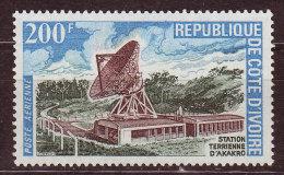 COTE D ' IVOIRE - 1972 - YT N° PA 60 - ** - Station Hertzienne - Ivoorkust (1960-...)