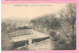 D50. SAINT-JEAN-LE-THOMAS. VUE PRISE DE LA TRANCHEE DU TRAMWAY. - France