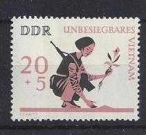 Germany (DDR) 1966  Unbesiegbares Vietnam  (**)  MNH  M.1220 - DDR