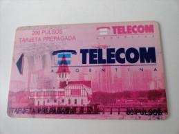 RARE : TELECOM ARGENTINA  200 PULSOS OR 50 PULSOS ?? - Argentine