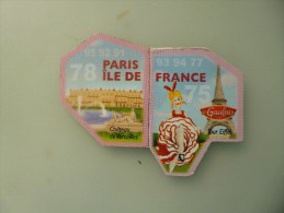 1 Lot De 2 Magnets Depart Aimant Le Gaulois N 75et 78 - Tourisme