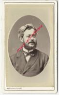CDV Identifiée Vers 1880-Monsieur TORCHEBEUF, Pharmacien à Saint Ouen-belle Photo Bombée-photo Deslande à  Paris - Old (before 1900)