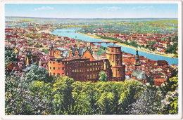 Pf. HEIDELBERG. Schloss Und Stadt. 9 - Heidelberg