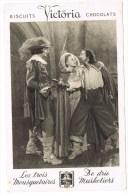 Victoria Biscuits - Chocolats : Les Trois Mousquetaires / De Drie Musketiers Nr. 8 - Chromos