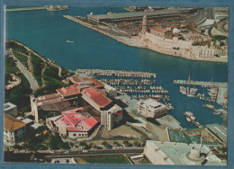 13-MARSEILLE-Vue Aérienne.l'entrée Du Port,le Pharo,le Fort St Jean, LeSOFITEL-non écrite-2 Scans -10.5 X 15-CIM COMBIER - Marseille