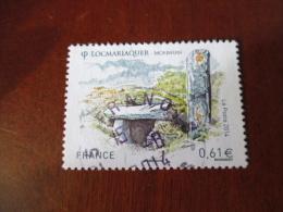 FRANCE TIMBRE OBLITERE  LOCMARIAQUER 4882 - France