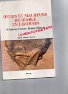 87-23-19- HEURS ET MALHEURS DU DIABLE EN LIMOUSIN SORCELLERIE ENVOUTEMENT-FRANCOIS GUYOT- 1997- - Limousin