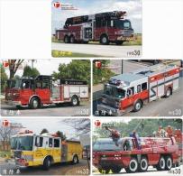 A04390 China Phone Cards Fire Engine 40pcs - Firemen