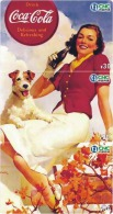 C04320 China Phone Cards Coca Cola Puzzle 24pcs - Lebensmittel