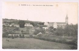 OUDON . Vue Prise De La Côte Saint - Aubin . - Oudon